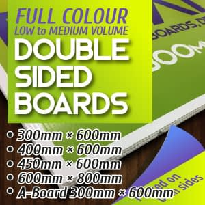 Boards - Double Sided Print