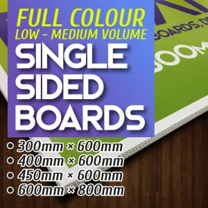 Boards - Single Sided Print